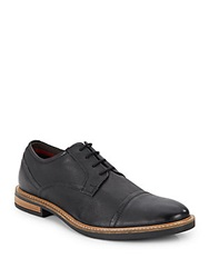 Ben Sherman Leon Leather Lace Up Oxfords Black