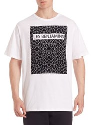 Les Benjamins Short Sleeve Graphic Tee White