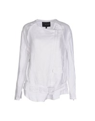 Kai Aakmann Kai Aakmann Coats And Jackets Jackets Women White