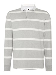 Howick Hockney Fine Stripe Grey Marl