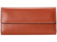 Lodis Audrey Checkbook Clutch Red Wallet Handbags