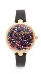 Kate Spade Novelty Abracadabra Watch Black Gold