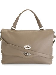 Zanellato Medium 'Postina' Satchel Grey