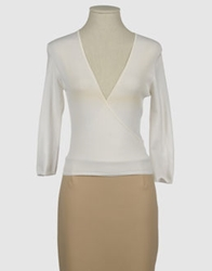 Caractere Short Sleeve Sweaters Ivory