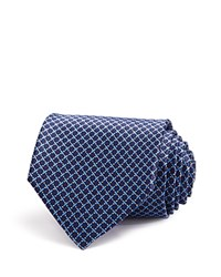 Bloomingdale's The Men's Store At Small Square Link Classic Tie Navy
