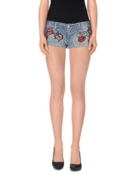 Philipp Plein Couture Denim Shorts