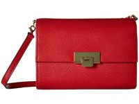 Lodis Stephanie Rfid Under Lock Key Eden Small Crossbody Red Cross Body Handbags