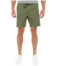 Obey One O Traveler Shorts Army Men's Shorts Green