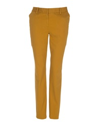 Lands' End Women's Slim Leg Stretch Chinos Mustard