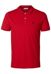 Selected Homme Shdaro Polo Shirt True Red
