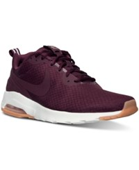 Nike Men's Air Max Motion Lw Se Running Sneakers From Finish Line Night Maroon Night Maroon