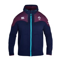 Canterbury Of New Zealand Men's Ireland Training Full Zip Hoody Navy