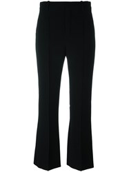 Chloe Kick Flare Trousers Black