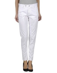 European Culture Casual Pants White