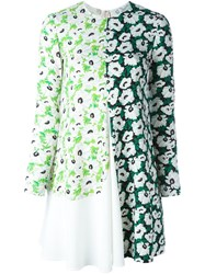 Stella Mccartney Poppy Print Dress Green