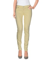 True Religion Trousers Casual Trousers Women Yellow