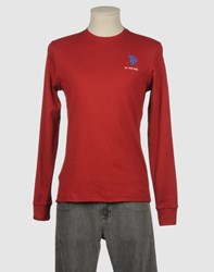 U.S. Polo Assn. U.S.Polo Assn. Topwear Long Sleeve T Shirts Men