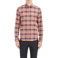 Brooklyn Tailors Plaid Flannel Shirt Multi