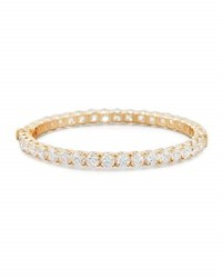 Roberto Coin 18K Rose Gold Diamond Eternity Bangle 17.05 Tcw