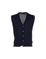 Boss Black Cardigans Dark Blue