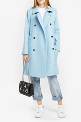 Paul Joe Women S Farniente Wool Coat Boutique1 Blue