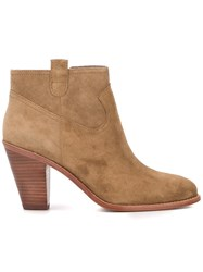 Ash 'Ivana' Ankle Boots Nude And Neutrals