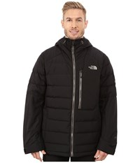 The North Face Point It Down Hybrid Jacket Tnf Black Brindle Brown Men's Coat