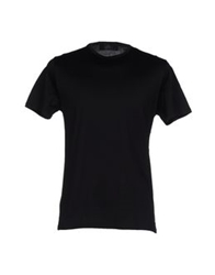 Vneck T Shirts Black