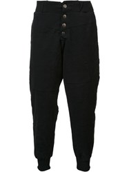 Greg Lauren Tent Lounge Pants Black