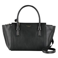 Radley Wimbledon Small Multiway Leather Shoulder Bag Black
