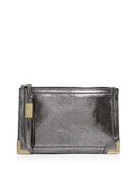 Foley Corinna And Frankie Wristlet Washed Silver