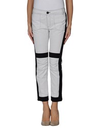 10 Crosby Derek Lam Trousers Casual Trousers Women Light Grey
