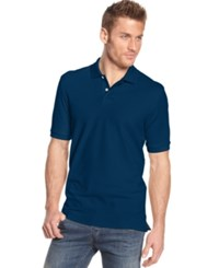 Club Room Big And Tall Men's Polo Shirt Only At Macy's Navy Blue