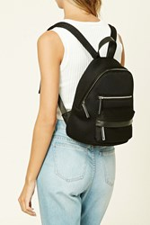 Forever 21 Zippered Mesh Backpack