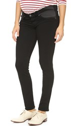 Paige Transcend Verdugo Ultra Skinny Maternity Jeans Black Shadow