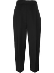 Paule Ka Cropped Trousers Black