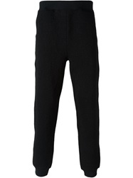 Moschino Stitched Logo Track Pant Black