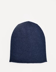 Johnstons Cashmere Beanie Eclipse