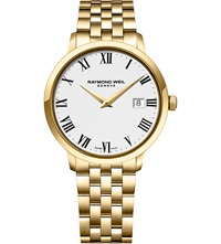 Raymond Weil 5488 P 00300 Toccata Gold Plated Watch