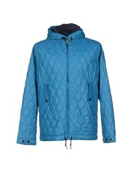 Museum Coats And Jackets Jackets Men Blue