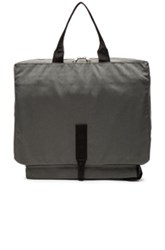 Comme Des Garcons Shirt Nylon Canvas Bag In Gray