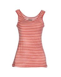 Douuod Topwear Vests Women Red