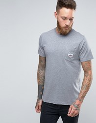 Penfield Label Pocket Logo T Shirt Grey