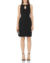 Reiss Calie Cutout Dress Black