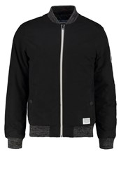Tom Tailor Denim Bomber Jacket Black