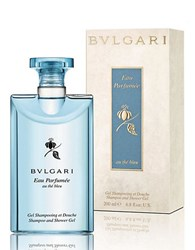 Bulgari Eau Parfumee Au The Bleu Collection Shampoo Shower Gel 6.8 Oz. No Color
