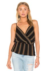 Free People Psychedelic Summer Top Black