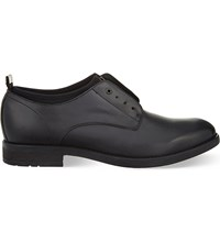 Diesel D Lowly Leather Derby Shoes Black