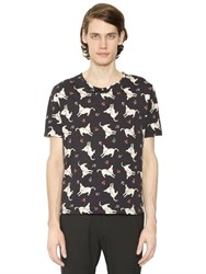 J.W.Anderson Lambs Printed Cotton Jersey T Shirt
