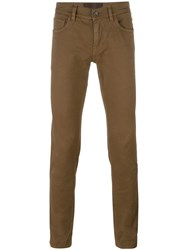 Dolce And Gabbana Slim Fit Jeans Nude Neutrals
